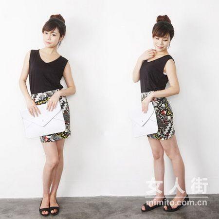 韩版女装搭配,简单清晰迷人百搭