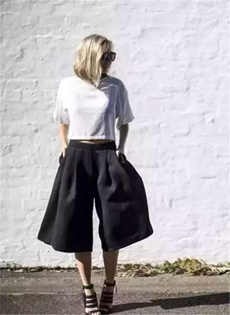 时尚潮流阔腿裤 让你尽显欧美风